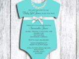 Onesies Baby Shower Invitations Esie Baby Shower Invitations Template