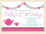 Online Birthday Invitation Template Girl 40th Birthday Ideas Little Girl Birthday Invitation