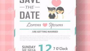 Online Editable Wedding Invitation Cards Free Download Wedding Invitation Card Template Vector Illustration