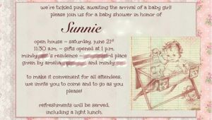 Open House Baby Shower Invitations Baby Shower Invitation Open House Baby Stuff