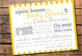 Open House Baby Shower Invitations Best 25 Open House Invitation Ideas On Pinterest