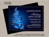 Open House Style Party Invitation Wording 23 Business Invitation Templates Free Sample Example