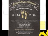 Open House Style Party Invitation Wording Nealon Design Chalkboard Footprints Baby Shower