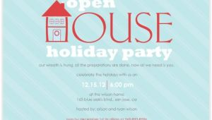 Open House Style Party Invitation Wording Open House Party Invitation Wording