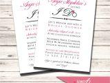 Order Bridal Shower Invitations Bridal Shower Invitation – Custom order to Match the Bride
