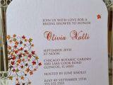 Order Bridal Shower Invitations Mason Jar Invitation Rustic Fall Leaves Bridal Shower