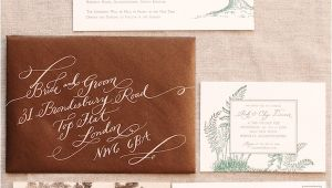Outdoors Wedding Invitations Elegant English Manor Outdoor Wedding once Wed