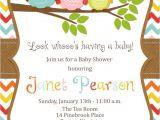 Owl Baby Shower Invitations Etsy Etsy Baby Shower Invitations