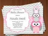 Owl Baby Shower Invitations for Girls Owl Baby Shower Invitation Girl Baby Shower Invitations