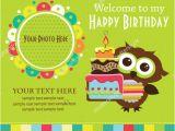 Owl Birthday Invitation Template 26 Photo Birthday Invitation Templates Psd Ai Word