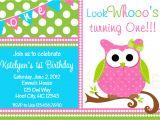 Owl Birthday Invitation Template Owl Birthday Party Invitations Bagvania Free Printable