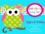 Owl Birthday Party Invites Owl Birthday Invitations Printable or Printed Invite