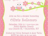 Owl Invites for Baby Shower Baby Shower Invitation Wording
