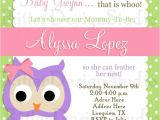 Owl Invites for Baby Shower Free Printable Owl Baby Shower Invitations