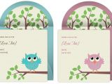 Owl Invites for Baby Shower Owl Baby Shower Invitations