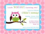 Owl themed First Birthday Invitations Printable Owl theme Birthday Party Invitation $8 00 Via