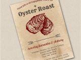 Oyster Roast Birthday Invitations Oyster Roast Invitation