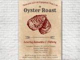 Oyster Roast Birthday Invitations Oyster Roast Invitation Printable or Printed W Free