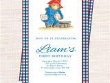 Paddington Bear Baby Shower Invitations Best 25 Paddington Bear Party Ideas On Pinterest