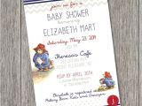 Paddington Bear Baby Shower Invitations Paddington Bear Printable Invitation & Favor by
