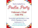 Paella Party Invitations Paella Party Invitations Cards On Celebrations Com