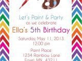 Paint Party Invitation Template Birthday Invites Awesome 10 Art Painting Party