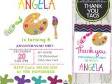 Paint Party Invitation Template Superb Painting Party Invitation Template Follows