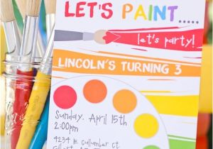 Painting Party Invitation Ideas How to Throw A Rainbow Art Party Ideas with A Creative Twist