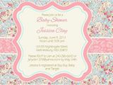 Paisley Baby Shower Invitations Items Similar to Spring Floral Paisley Baby Shower