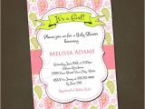 Paisley Baby Shower Invitations Pink Paisley Baby Shower Invitations You by Pinkskyprintables