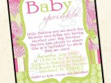 Paisley Print Baby Shower Invitations Paisley Print Sprinkle Baby Shower Invitation Boy or Girl