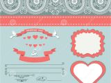 Paisley Wedding Invitation Template Wedding Design Template with Paisley Border Cartoon Hearts