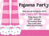 Pajama Party Invites Free Invitation for A Pajama Party orderecigsjuice Info