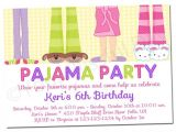 Pajama Party Invites Printable Girl Pajama Party Invitations 563
