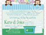Pamper Baby Shower Invitations Items Similar to Pamper and Wipes Baby Shower Invitation