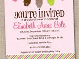 Pamper Invitations Baby Shower Baby Shower Invitation Wording