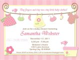 Pamper Invitations Baby Shower Baby Shower Invitations for Girls