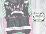 Pampered Chef Bridal Shower Invitation Wording Pampered Chef Bridal Shower Invitation Blush Pink Mint