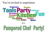 Pampered Chef Party Invitation Pampered Chef with thepamom the Portuguese American Mom
