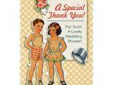Paper Dolls Wedding Invitations 17 Best Images About Vintage Bridal Shower Invitations On