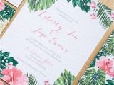 Paperchase Party Invitations Beyond the Aisle Paper Chase Tropical Wedding and Party