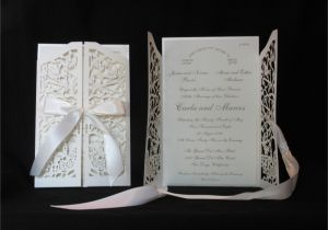 Papercut Wedding Invitations Invitations