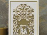 Papercut Wedding Invitations Jewish Wedding with Chuppah Papercut Invitation Enlarged