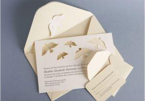 Papercut Wedding Invitations Papercut Dove Wedding Invitations Invitation Crush