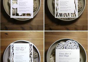 Papercut Wedding Invitations Papercut Wedding Invitations by Naomi Shiek
