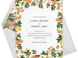 Paperless Post Free Wedding Invitations Must See Check Out Rifle Paper Co 39 S New Paperless Post