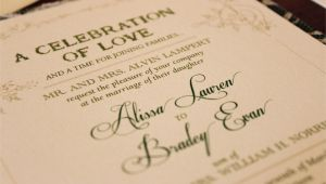 Parents Names On Wedding Invitation Etiquette Wedding Invitation Etiquette Special Wording