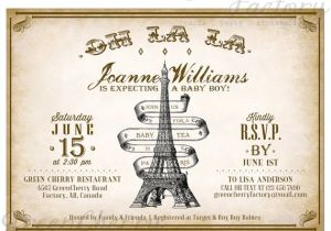 Paris Tea Party Invitation Items Similar to Paris Tea Party Invitation afternoon