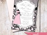 Paris themed Baby Shower Invites French theme Baby Shower Invitation Choose by Letterbeepaperie