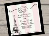Parisian Bridal Shower Invitations 1000 Ideas About Paris Invitations On Pinterest